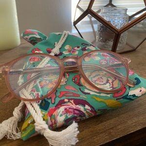 Rose/Blush Pink Blue-light Glasses